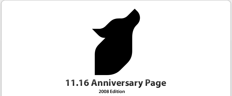 11.16 Anniversary Page
